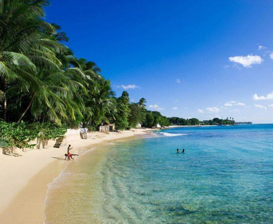 пляж на Карибских островах